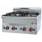 Diamond Gas stove 4-burner tabletop | 2x 3.3 + 2x 3.6 kW | 600x600mm