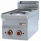 Diamond Kuchnia elektryczna 2-płytowa nastolna | 2x 2kW | 300x600mm