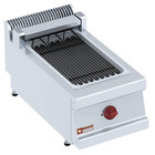 Diamond Grill elektrische stoom 270x450mm nastolny | 4kW | 400x700x (H) 330mm