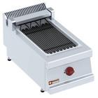 Diamond Grill elektryczny parowy 270x450mm nastolny | 4kW | 400x700x(H)330mm