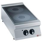 Diamond Electric kitchen witoceramiczna 2-zone desktop   2x 3,4kW   400x900x (H) 250 / 320mm