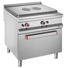 Diamond Elektrische Küche mit einer Platte 755x625mm 12kW und Gasofen GN2 / 1 | 800x900x (H) 850 / 920mm
