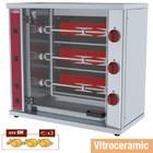 Diamond Rotisserie kip | witroceramiczny | 3 vorken (9 kippen) | 4500W | 230 | 800x400x (H) 735mm