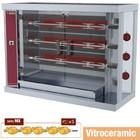Diamond Broodrooster witoceramiczny kip 3x 5   7,5 kW   1200x500x (H) 885 mm