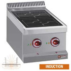 Diamond Kitchen Induction 2-zone desktop | 2x 3.5 kW | 400x700x (H) 250 / 320mm