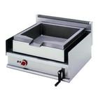 Diamond Electric frying pan | steel | capacity. 30L | 490x440x (H) 140mm