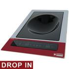 """Diamond Inductiekookplaat """"ingebouwd-in-wok""""   3.6 kW   390x430x (H) 160mm   touch-toetsen"""