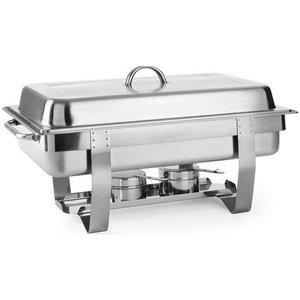 Hendi Podgrzewacz na pastę Kitchen Line | GN 1/1 | 585x385x(H)315mm | 9L