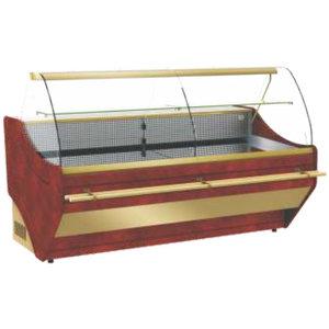 XXLselect Lada chłodnicza ASTORIA z agregatem | 2490x1100x(H)1250mm | szyba gięta