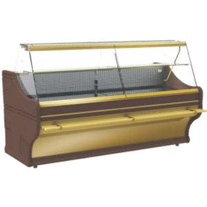 XXLselect Lada chłodnicza SANTANA | 1570x930x(H)1250mm | szyba prosta | 400W
