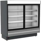 XXLselect DAVOS Kühlvitrine für externen Kompressor | 1570x850x (H) 2000 mm