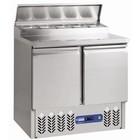Diamond Stół chłodniczy | 2 pary drzwi + konstrukcja chłodnicza | +2°+ 8°/+4°+10° | 340W | 900x700x(H)870/1250mm