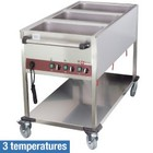Diamond Heated trolley | 3 GN 1/1 | 3 temperature | 2100W | 1300x650x (H) 900mm