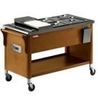 Diamond Wooden cart bemar 3x GN 1/2 | 1950W | 230V | 1210x610x (H) 810mm