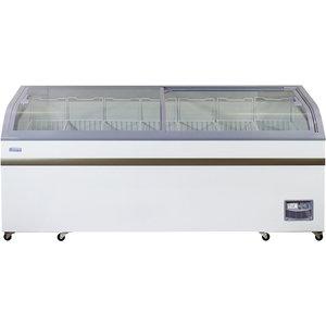 XXLselect Zamrażarka supermarketowa   700L   -18°C   120kg   2000x757x(H)858mm