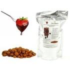 Callebaut Belgische Milchschokolade und Fondue-Brunnen | 1 kg