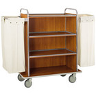 Diamond Wózek na pranie | 4-półkowy | z 2 workami | 1070x520x(H)1340mm