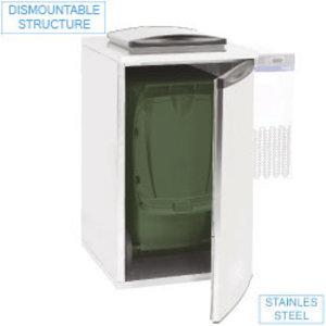 Diamond Kühlschrank Abfall 735x870xh1290 mm