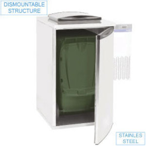 Diamond Refrigerator waste 735x870xh1290 mm