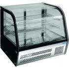 Saro Nastawna witryna chłodnicza | +2 / +10 °C | 85L | 160W | 230V | 695x462x(H)670mm