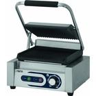 Saro Elektryczny grill kontaktowy PG 1 | ryflowany | 50 - 300 °C | 1800W | 230V | 320x410x(H)190mm