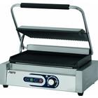 Saro Elektryczny grill kontaktowy PG 1B   ryflowany   50 - 300 °C   2200W   230V   440x410x(H)190mm