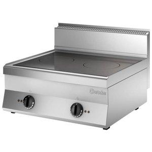 Bartscher Inductie-kooktoestel met 2 zones