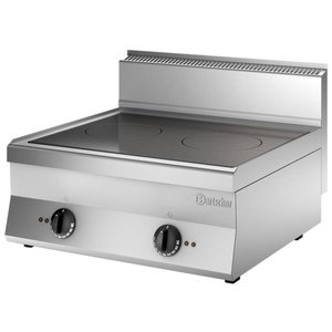 Bartscher Induction stove with 2 cooking zones