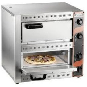 Saro Pizza Oven Dubbel Elektrisch   2 Pizza's 33 cm Palermo