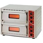 Diamond Piec do pizzy elektryczny dwukomorowy | 6000W | 670x580x(H)500mm