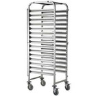 Carts for containers and trays