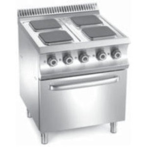 MBM 4-plate cooker with oven | 15700 W