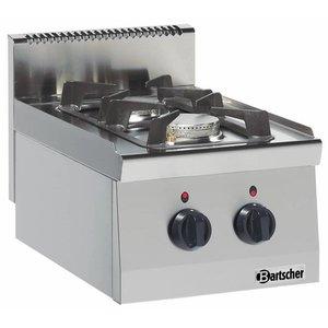 Bartscher Kuchnia gazowa 2 palnikowa   9500W