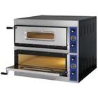 Fast Pizza Piec do pizzy 2-komorowy 8400W | 230/400V