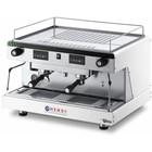 Hendi Kaffee kolbowy Hendi zu Top Line Vega 2-Gruppe | electronic | weiß | 3,7 kW