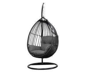 Hang Schommelstoel Tuin : Hangstoel met standaard eggchair paris tuinmeubelcentrum reint