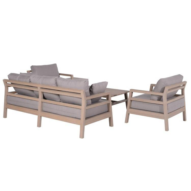 garden impressions bali vironwood loungeset 5 teilig gartenm bel mit best preis garantie. Black Bedroom Furniture Sets. Home Design Ideas