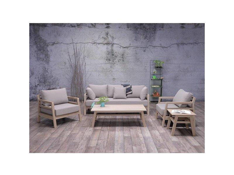Garden impressions bali vironwood loungeset teilig gartenmöbel