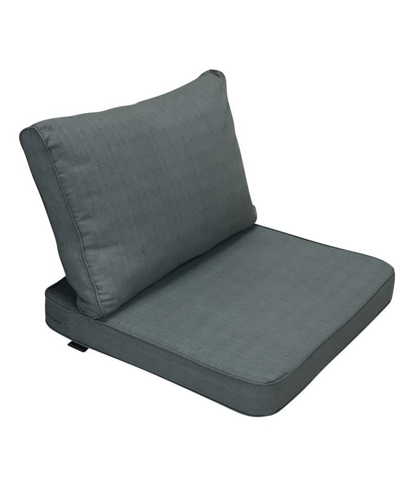 Madison Tuinkussenset 60x60 en 60x40 Basic Grey