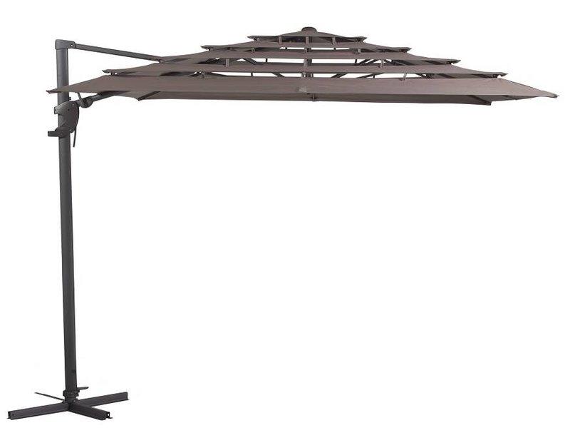 Madison Madison Monaco  Ampelschirme 300x300 Open Air Taupe