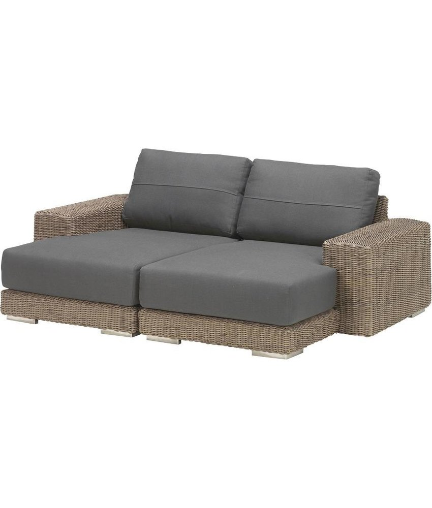 4 Seasons Outdoor Kingston Chaise Longue L+R