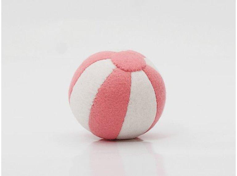 Wonen voor jou Vilten bal roze/wit