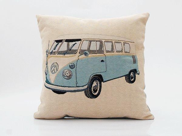 Kussen Volkswagen lichtblauw