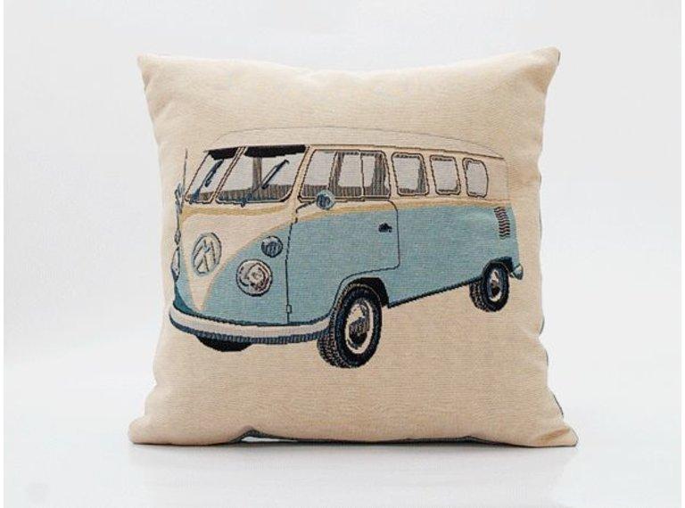 Wonen voor jou Kussen Volkswagen lichtblauw