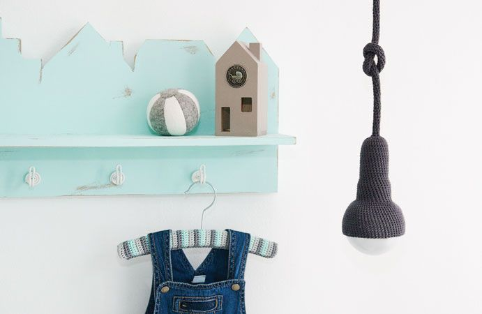 Babykamer in mint