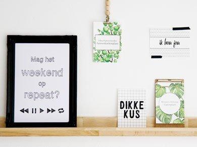 Posters & kaarten