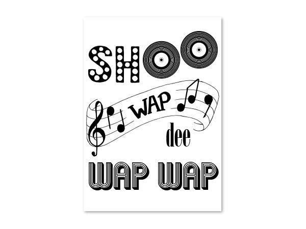 Kaart Shoo wap