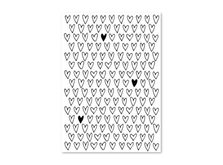 Kaart hartjes
