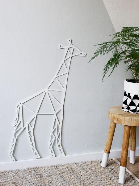 metalen giraffe voor aan de wand wonen voor jou