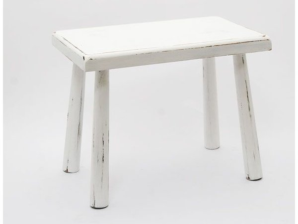 Wit tafeltje ronde poten